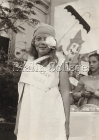 Photograph, Student in costume, c. 1960s-1970s