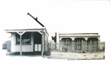 Photograph - Card Box Photographs, E. Jenkins Butcher shop, Sebastopol circa 1916