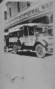 Photograph - Card Box Photographs, Omnibus, Ballarat circa 1925