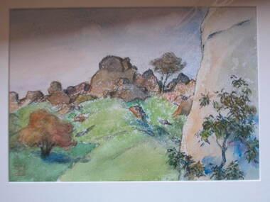 Artwork - Painting, Arthur Lindsay, [Landscape] by Arthur Lindsay