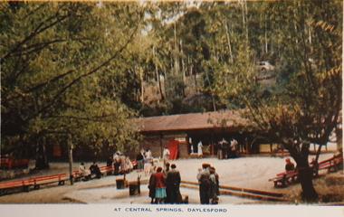 Souvenir - Postcard Booklet Image, A Souvenir of Beautiful Daylesford, c1957