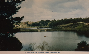 A view of Lake Daylesford