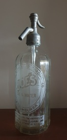 Domestic object - Soda Syphon, Joe's Soda Water Syphon
