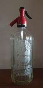 Domestic object - Soda Syphon, Joe's Soda Water Syphon, c1950