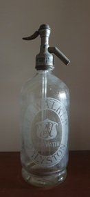 Domestic object - Soda Syphon, J.A. Walker Soda Water Syphon