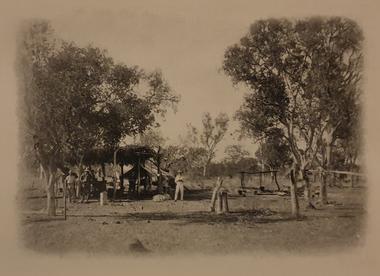 Photograph, Transcontinental Railway Survey Camp, c1905