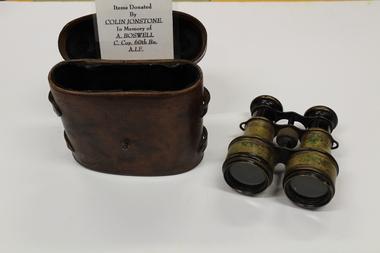 Binoculars with case, ETABLISSEMENTS 'AFSA;, Unknown
