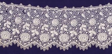 Machine made lace