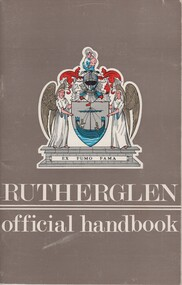 Booklet, Rutherglen Official Handbook, 1970