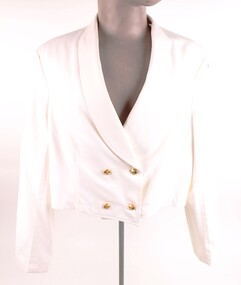 Uniform, Navy, Mess Jacket White