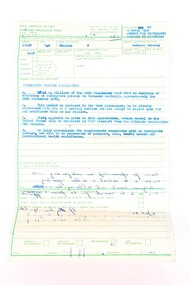 Documents, R.Bingley, RAAF Document 4th April 1970.     Surrender leaflets Circa 1960
