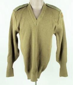 Uniform, Army, Khaki Jumper, 1996