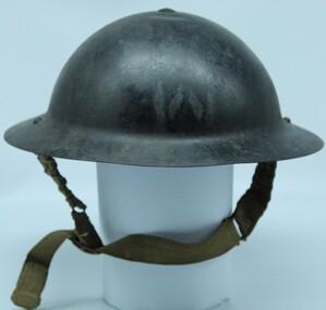 Headgear - WW2 Air Raid Warden's Helmet, C WW2