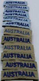 Uniform - Cloth badges