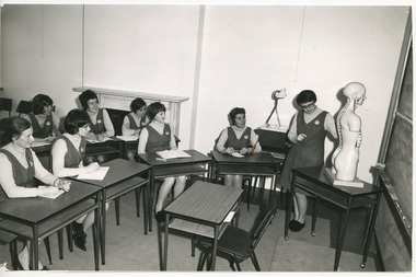 An Education session in the Royal District Nursing Service (RDNS) Education Department