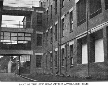 New wing of the Melbourne District Nursing Society After-Care Home