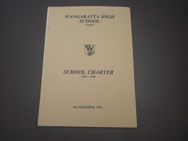 WHS School Charter, 1994-1996