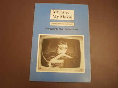 WHS Student Creative writing book, 1996