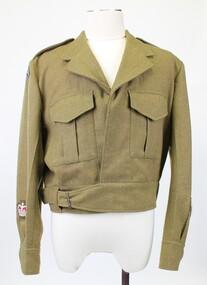 Jacket battle dress, 1977