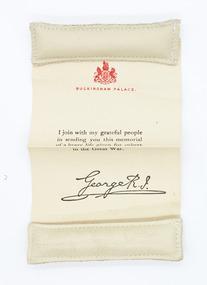 Certificate, c. 1923