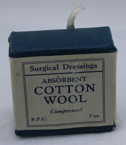 Surgical Dressing Compressed