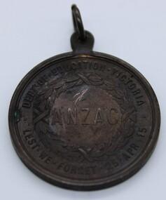 Medallion, Stokes & Sons, Circa 1916