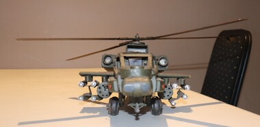 Cobra Helicopter was a fearsome weapon of the US Army which often was used in support of Australian troops..