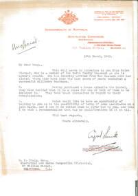 Letter - Document, letter