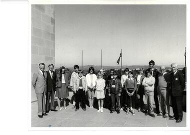Photograph - Photo, Australian War Memorial, Junior Legatee Outing