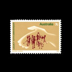 Souvenir - Postage Stamp, Legacy 50th Anniversary, 1973