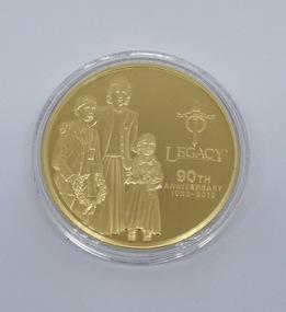 Memorabilia - Medallion, Legacy 90th Anniversary 1923-2013, 2013