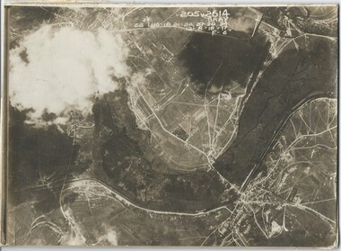 Photograph - Photo, Aerial view of the Somme