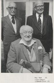 Photograph - Photo, Legatees Donovan Joynt and Kem. Kemsley with Mick Moon