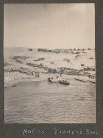 Photograph - Photo, Suez Canal, 1920