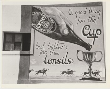 Photograph - Photo, A Mural West of Tobruk, 1941