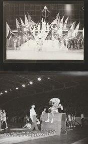 Photograph - Photo, Legacy Demonstration, Olympic Pool Stadium 1962, 1962