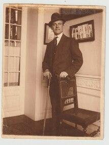 Photograph - Photo, Captain Philip E Potts, 1919