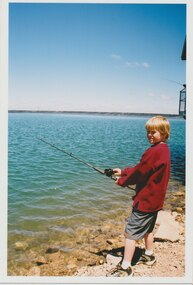 Photograph - Photo, Junior legatee outing, Fishing, 2001?
