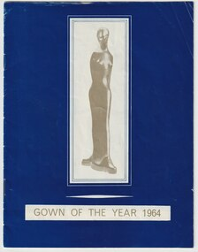 Programme - Document, programme, Gown of the Year 1964, 1964