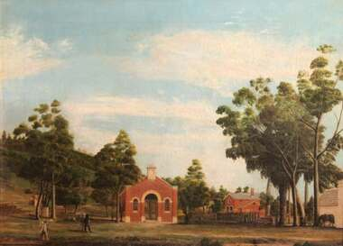 Oil Painting, c1864