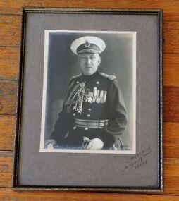 Photo, Signed photo of Major General C. H. Brand, CB,  CMG,  CVO,  DSO, taken 11 November 1938, 11 November 1938