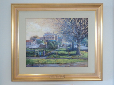 Oil, Kevin Taylor, Afternoon - Hobson Street, Queenscliff