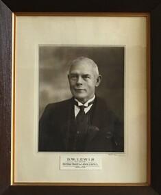 Photograph - Portait of D.W. Lewis