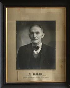 Black and White Portrait, T. Gearon