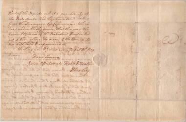Letter, July 9 1766