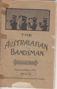 Journal, The Australian Bandsman 32(10), 20/05/1919