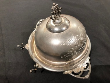 Butter dish, Brittania Metal Co