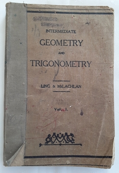 A softcover textbook for Intermediate students on Geometry and Trigonometry  for beginners in these subjects. Diagrams, exercises and clear explanations are presented.