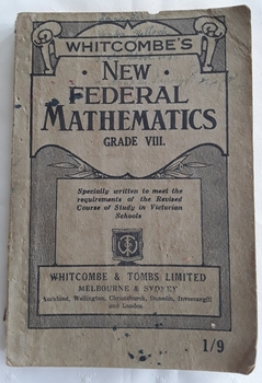 A paperback Mathematics book for Grade 8 Elementary School students.
