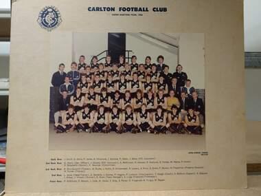 Colour photograph, Under 19  team 1984, 1984